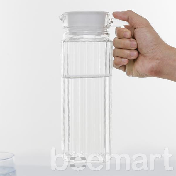 Bình nước thủy tinh Luminarc Quadro 1