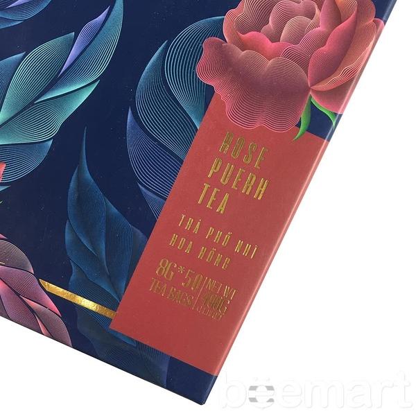 Trà Phổ Nhĩ Hoa Hồng TEAESPRESSO 400gr 2