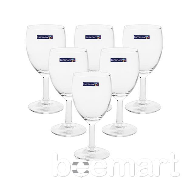 Bộ Ly rượu thủy tinh Luminarc 140ml 1