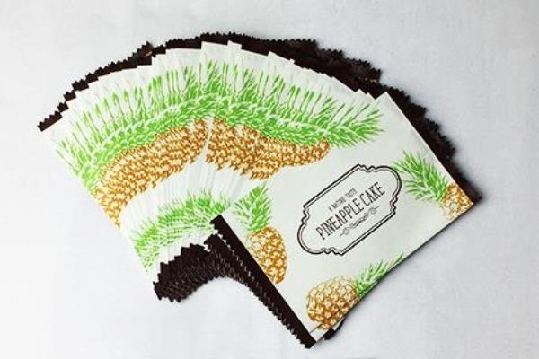 Túi đựng bánh quy dứa Natura taste (20/50/100 chiếc/set) 1