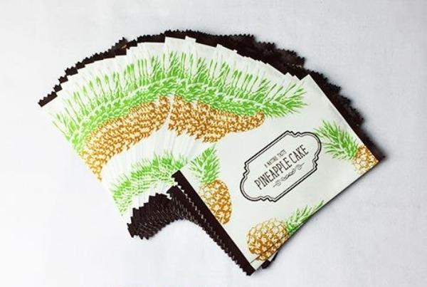 Túi đựng bánh quy dứa Natura taste (20/50/100 chiếc/set) 2