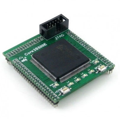 kit-fpga-xilinx-core3s500e-waveshare