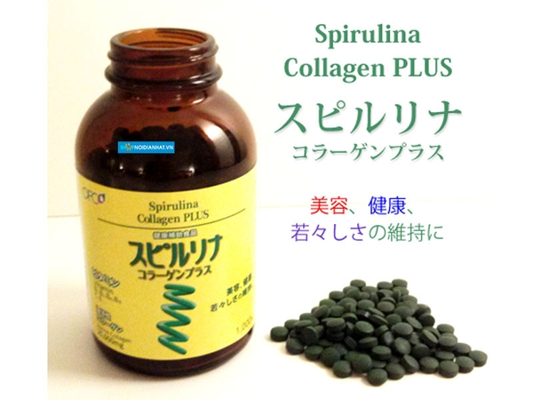 tao spirulina collagen plus nhat ban 01