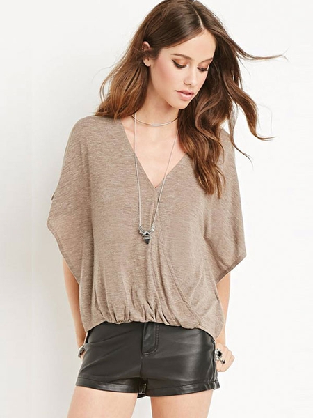 Áo Forever21 - Surplice V-neck top