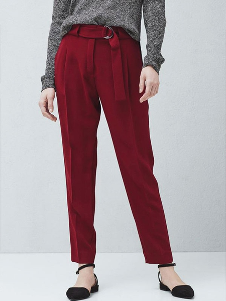 Belt Baggy Trouser MANGO