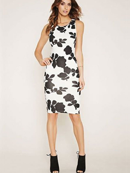 Contemporary Floral Dress Forever 21 More