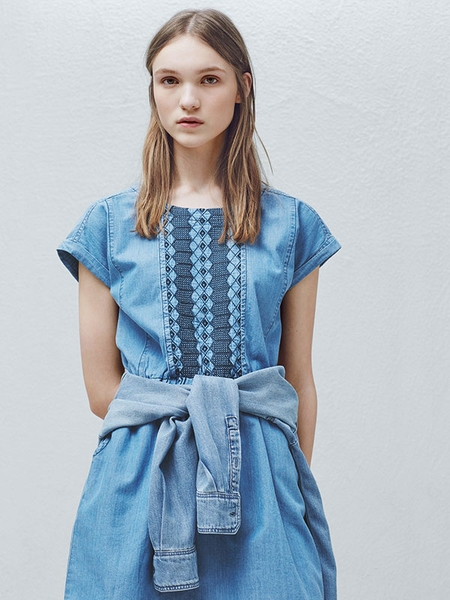 Đầm Denim MANGO - Denim Dress MANGO