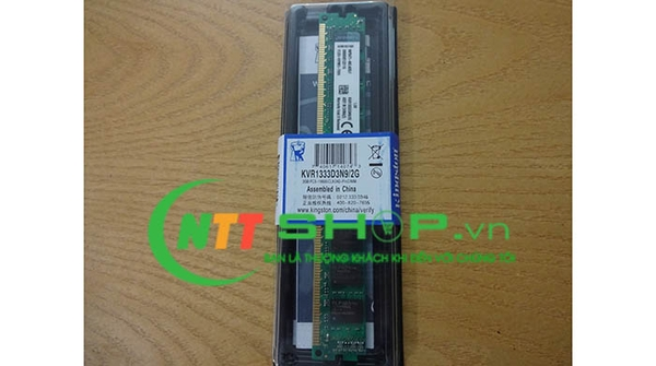Kingston - DDR3 - 2GB - bus 1333MHz - PC3 10600