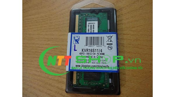 Kingston DDR3 4GB PC3L-12800s bus 1600MHz