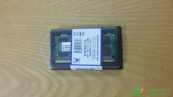 Ram laptop Kingston 8GB DDR3 1600Mhz PC3 12800 giá rẻ