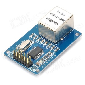 ENC28J60 Ethernet Module for Arduino