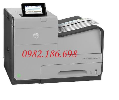 Máy in phun màu HP Officejet Enterprise X555XH