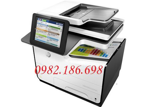 Máy In phun màu HP Pagewide Enterprise Color MFP 586Dn (G1W39A)