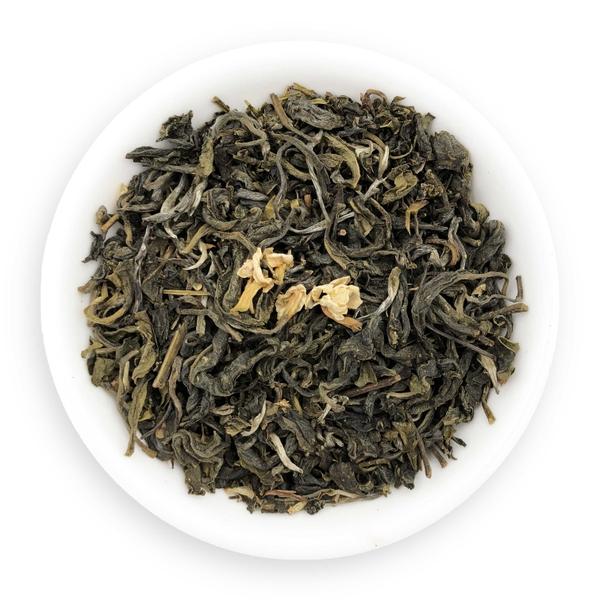 trà xanh hoa nhài
