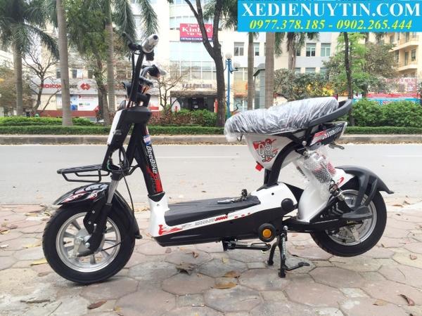 Xe đạp điện 133 Sport 2020 mầu trắng