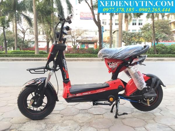 Xe đạp điện 133 Sport 2020 mầu đỏ