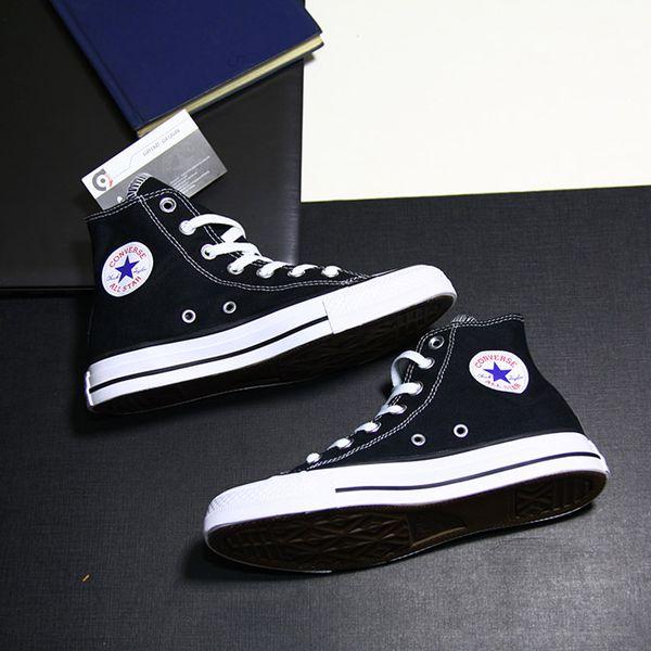 Converse classic cao cổ vải đen CCVD029