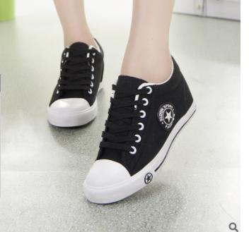 Giầy thể thao sneaker nữ Hàn Quốc tăng chiều cao 9107 -AL