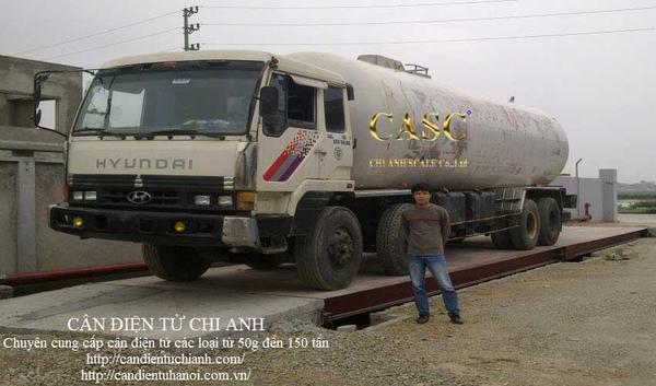 Cân nửa nổi 80 tấn GAS An Phú Bắc Ninh