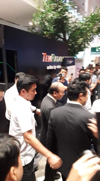 Presiden in Techfest 2018