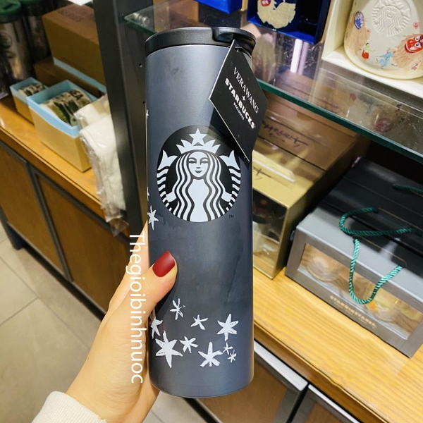 STARBUCKS® Flashing Lights Stainless Steel Tumbler