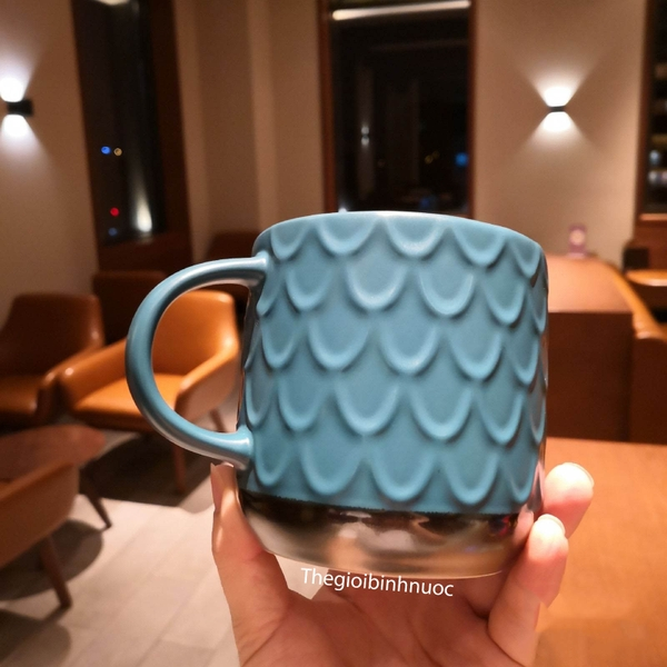 Ly Sứ Starbucks Mermaid Logo Vintage