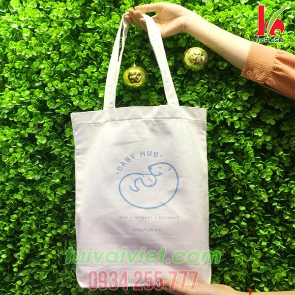 Túi vải bố Baby Hub