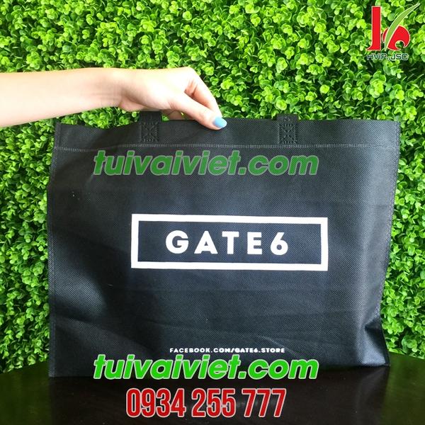 Túi vải không dệt ép nhiệt có quai xách Gate 6