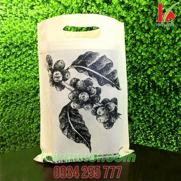 Túi vải không dệt ép nhiệt Oribeans TVE011