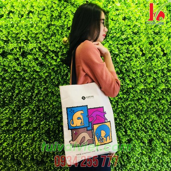 Túi vải bố Lotte TVB008