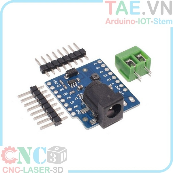 Module DC Power Shield V1.0 WEMOS D1