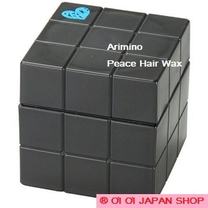 Sáp vuốt tóc Arimino Peace Hair Wax 80g - Black- Super Hard