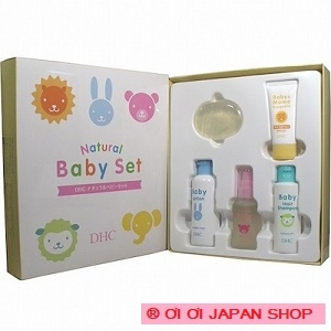 DHC natural baby set 5 point