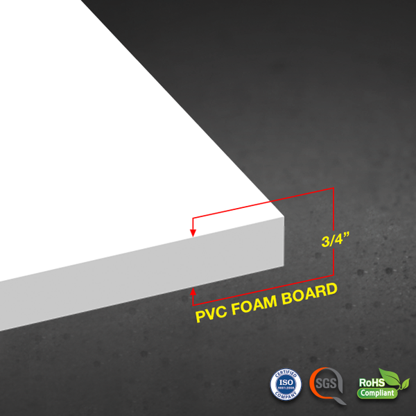 PIMA PVC FOAM BOARD 3/4