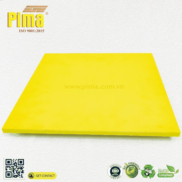 PIMA PVC FOAM BOARD (YELLOW)