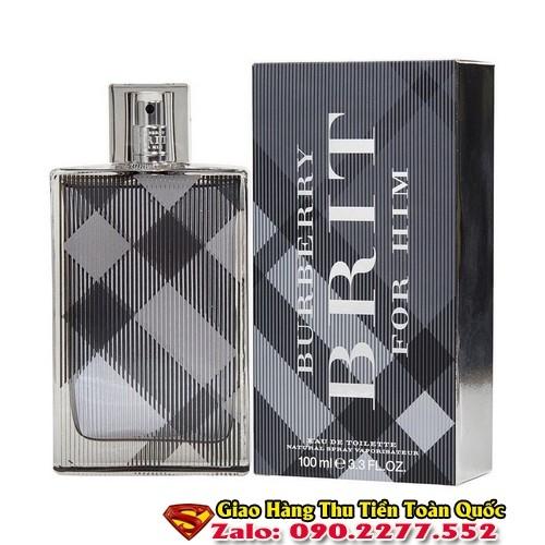 Địa chỉ bán Nước Hoa Burberry Brit For Men chính hãng giá chỉ từ 290k giao hàng toàn quốc