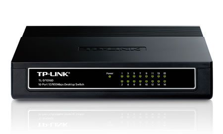 SWITCH 16 CỔNG TP-LINK 10/100M TL-SF 1016D