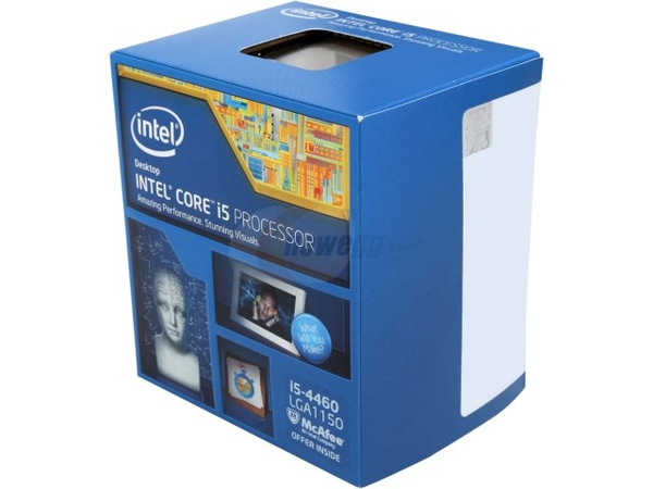 CPU Intel Core i5 - 4460 3.2GHZ  (tray fan box)
