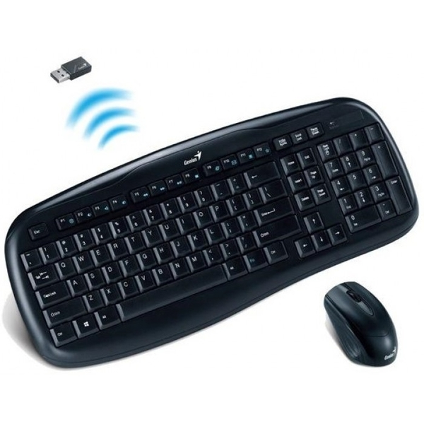 Keyboard & Mouse Genius Wireless Multimedia KB-8000