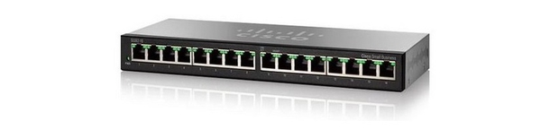 GYAGA SWICH CISCO SG95-16-AS   - 16 Port 10/100/1000 Mbps