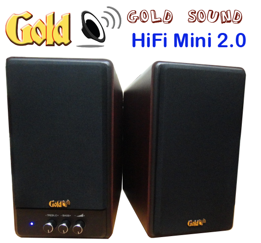 Loa Goldsound GS 2- hifi mini 80w