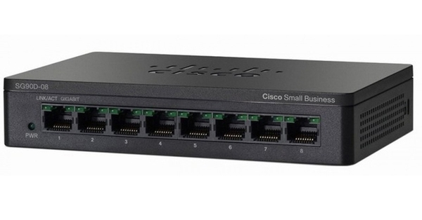 SWICH CISCO SF95D-08-AS - 8 Port 10/100 Mbps with MDI and MDI crossover