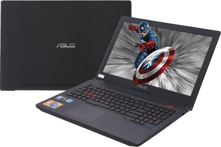 Laptop Gaming Asus FX503VD-E4082T Intel® Core™ i5 7300HQ Kabylake  8GB DDR4/2400Mhz  1TB 5400rpm 8G SHHD  +  SSD 128GB  VGA NVIDIA GeForce GTX 1050 4GB GDDR5  Màn hình 15.6