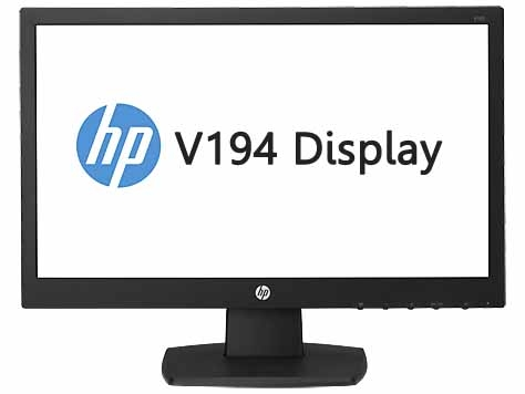 HP V194 LED Backlit Monitor  18.5 inch_V5E94AA