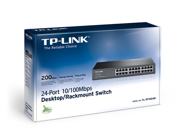 SWITCH 24 CỔNG TP-LINK 10/100M TL-SF 1024D