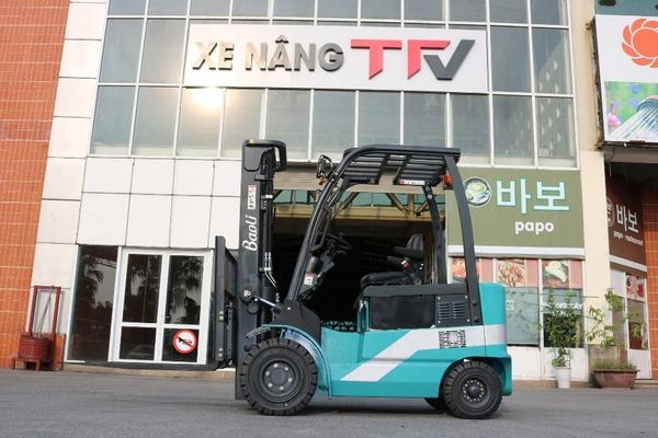 Xe nâng Trung Quốcđiện Baoli cho khả năng hoạt động 3 ca liên tục