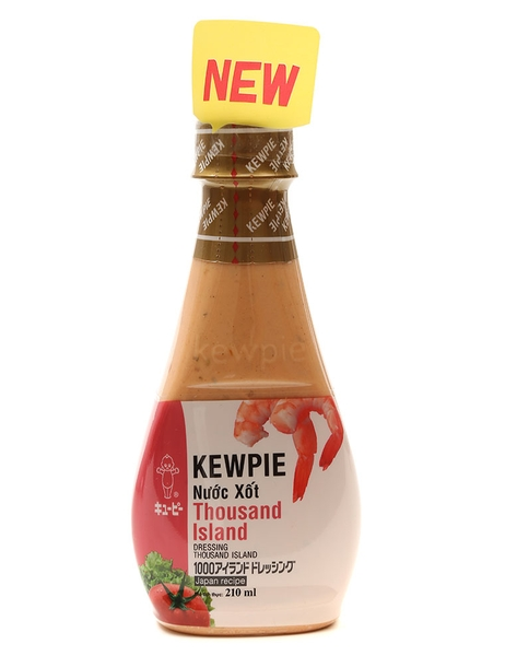 Sốt Thousand Islands Kewpie Chai 210ml