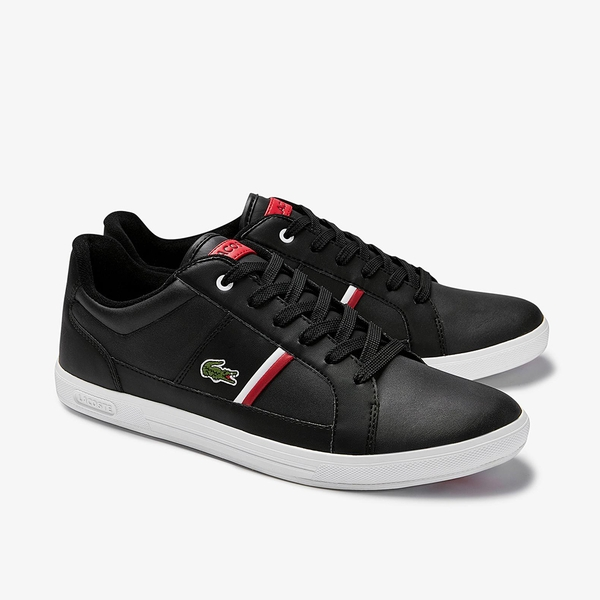 Giày Lacoste Europa 120 – Đen/Trắng