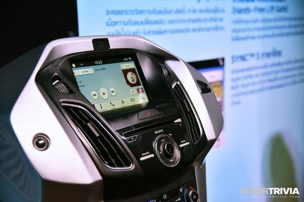 Ford Everest 2019 nhập khẩu hệ thống giải trí