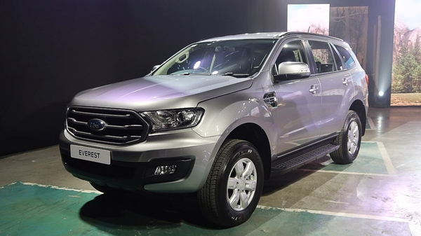 Ford Everest 2019 nhập khẩu mới